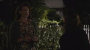 Dirty Jobs- Virginia talks to neighbor Loraine, played by Rebekah Ward