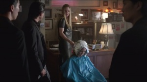 Love Is to Die- Pam works on Sarah's hair