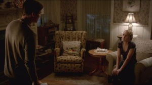 Thank You- Bill talks with Sookie about his death wish