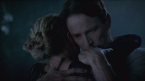 Thank You- Sookie and Bill hug before it's time
