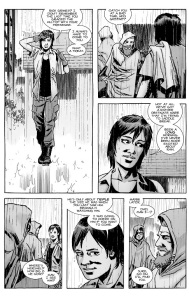 The Walking Dead #130- Maggie meets up with Rick