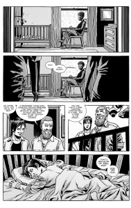 The Walking Dead #130- Rick and Maggie talk about babies sleeping