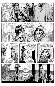 The Walking Dead #130- Rick as a hero