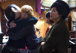 Frank- Jon hugs Frank
