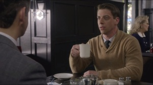 Mirror, Mirror- Bill talks with Francis, played by Christian Borle