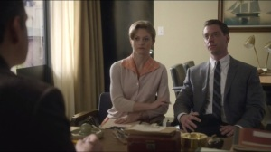 Mirror, Mirror- Bill with Francis and Pauline, played by Marin Ireland