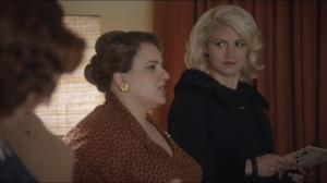Mirror, Mirror- Flo tells Betty that her spokesman died