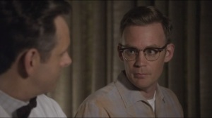 Mirror, Mirror- Lester tells Bill that the study is his inspiration