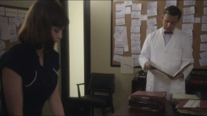 Mirror, Mirror- Virginia and Bill go through files on impotence