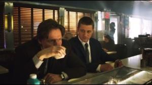 Pilot- Bullock and Gordon at cafe