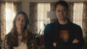 Skeleton Twins- Maggie, played by Kristen Wiig, and Milo, played by Bill Hader