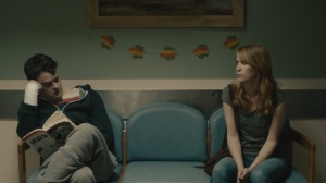 Skeleton Twins- Maggie visits Milo after he's been discharged