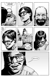 The Walking Dead #131- Carl learns he can become an apprentice after all