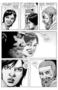 The Walking Dead #131- Maggie and Rick talk about how humanity has changed