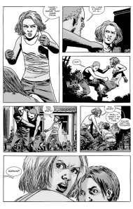 The Walking Dead #131- Sophia the bad ass
