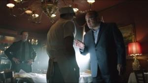 Arkham- Maroni appreciates Oswald for saving his money