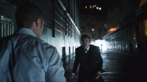 Arkham- Oswald offers to help Gordon