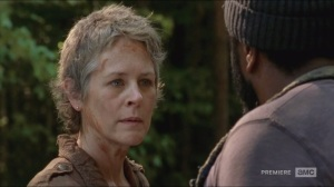 No Sanctuary- Carol learns that Tyreese killed Alex