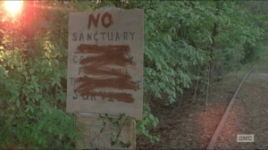 No Sanctuary- New sign