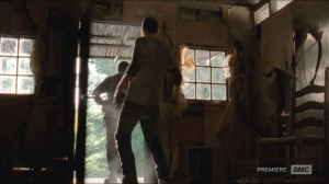 No Sanctuary- Tyreese practices his Kool-Aid man impression