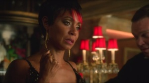 Selina Kyle- Jada Pinkett Smith chews scenery