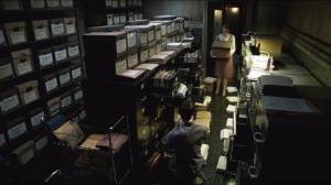 Spirit of the Goat- Nygma reorganizes Ms. Kringle's files