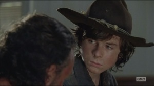 Strangers- Carl trusts Gabriel
