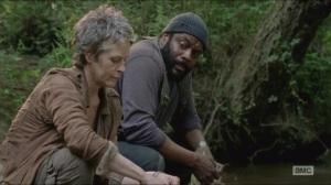 Strangers- Carol and Tyreese talk