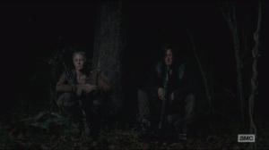 Strangers- Daryl talks with Carol