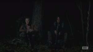 Strangers- Daryl talks with Carol