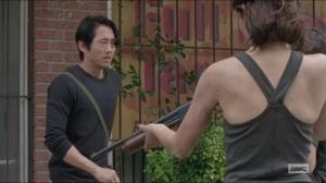 Strangers- Glenn found some silencers