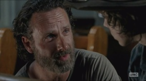 Strangers- Rick doesn't trust Gabriel