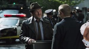 The Balloonman- Gordon and Bullock investigate scene