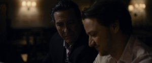 The Disappearance of Eleanor Rigby- Connor and his father, Spencer, played by Ciarán Hinds, talk
