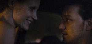 The Disappearance of Eleanor Rigby- Eleanor and Connor in car during rain