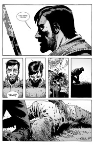 The Walking Dead #132- Dante hears the dead