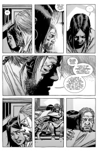 The Walking Dead #133- Eugene is ready to be a father for Rosita's child