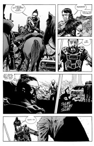 The Walking Dead #133- Jesus' crew attacked by 'walkers'