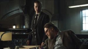 Viper- Gordon returns to find a box of Potolsky's stuff on the desk