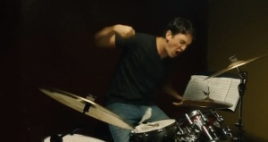 Whiplash- Andrew destroys drum