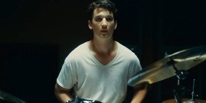 Whiplash- Andrew plays, but realizes he's being watched
