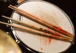 Whiplash- Blood on the drums