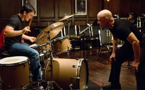 Whiplash- Fletcher hovers over Andrew