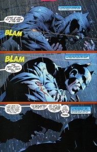 Batman 614- Gordon stops Batman from killing the Joker