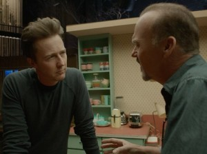 Birdman- Riggan meets Mike Shiner, played by Edward Norton