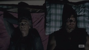 Consumed- Daryl and Carol try to get some sleep