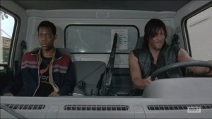 Consumed- Daryl and Noah drive off