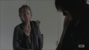 Consumed- Daryl picks a lock, Carol talks about being somewhere else