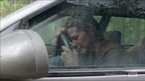 Consumed- Flashback, Carol cries in car