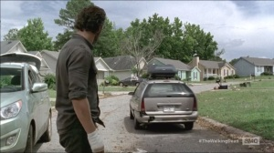 Consumed- Flashback, Carol leaves after Rick banishes her